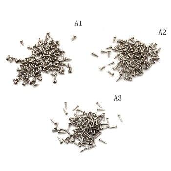 100 Uds 2x4mm/6mm/8mm M2 de tornillo de hilo de acero inoxidable 304 la forma de la cabeza de la Cruz tornillos de cabeza redonda extremo liso tornillo máquina Phillips