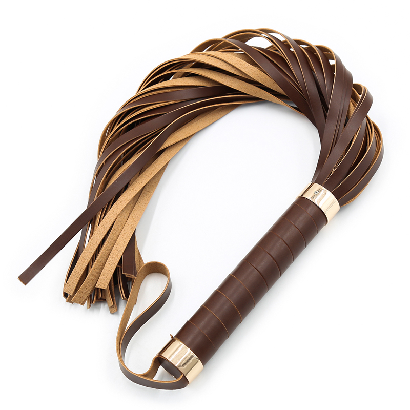 Bondage Flogger Flirting PU Leather Whip Bdsm Spanking Flogger Tassel Bondage Restraints Sex Toys For Couples Woman Adult Games
