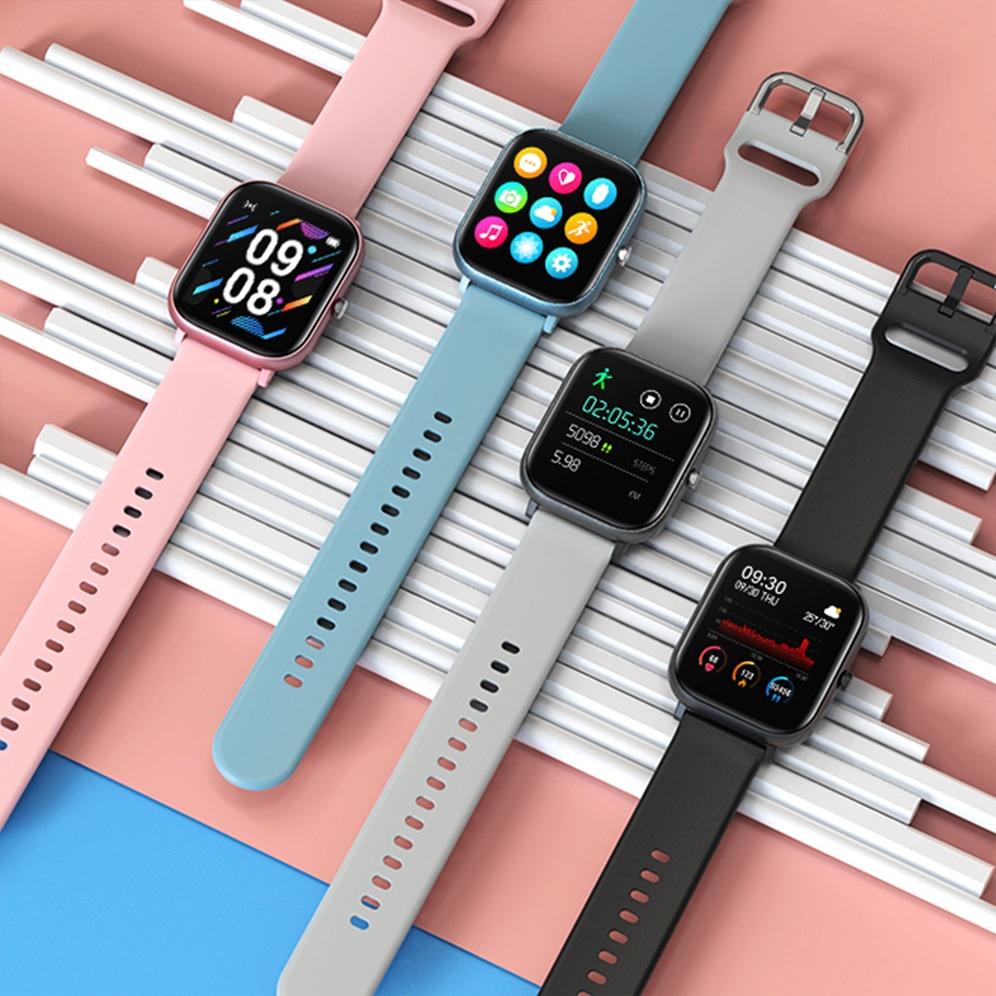 SITLOS 2020 P8 SE 1.4 pollici Smartwatch uomo Full Touch modalità multi-sport con Smart Watch donna cardiofrequenzimetro per iOS Android 2