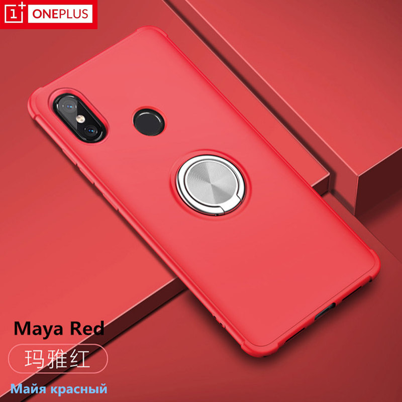 Original for OnePlus 6 case Half-pack phone 6T With ring bracket function Support car oneplus 6T.