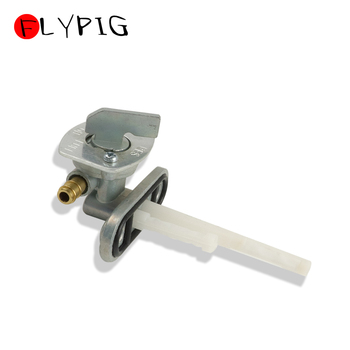 FLYPIG Motocycle Fuel Tank Tap Valve Switch Gas Fuel Petcock for Honda XR50 CRF50 Suzuki Quadsport LT80 160 230 LTF160 LTF230 image
