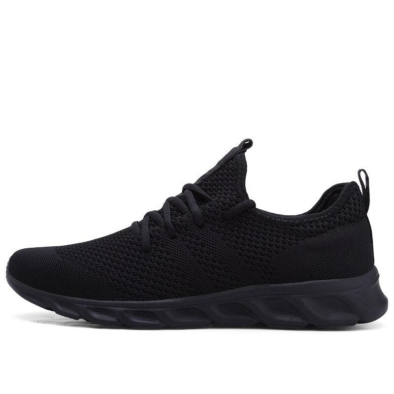 H1170b28199da4c42906ebf273d9de0dbG Flyknit Men Shoes Light Sneakers Men Breathable Jogging Shoes for Men Rubber Tenis Masculino Adulto Plus 35 46 48
