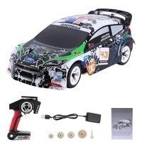 Wltoys K989 1/28 4WD spazzolato RC telecomando Rally Car RTR con trasmettitore veicolo da corsa per auto da corsa antideflagrante