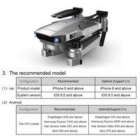 LAUMOX SG907 GPS Drone с 4K HD Регулировочная камера Широкоугольный 5G WIFI FPV RC Quadcopter Профессиональные складные дроны E520S E58 3