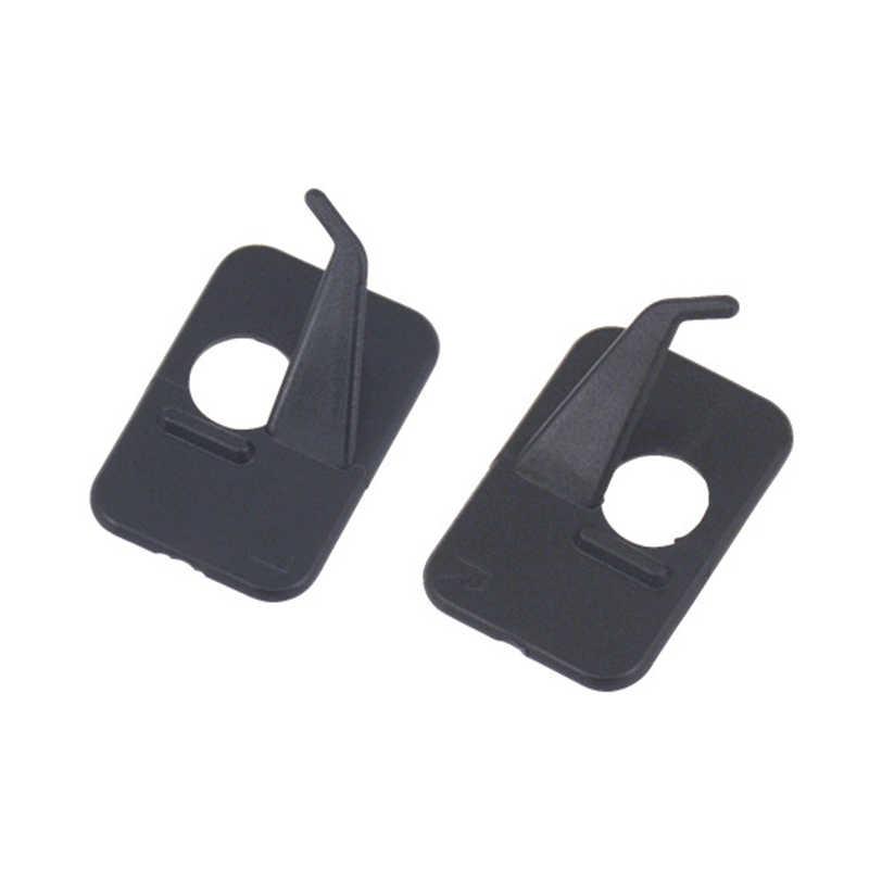 Mão direita de plástico seta caça tiro acessórios resto para recurvo arco na cor preta achery tiro esportes ao ar livre quente