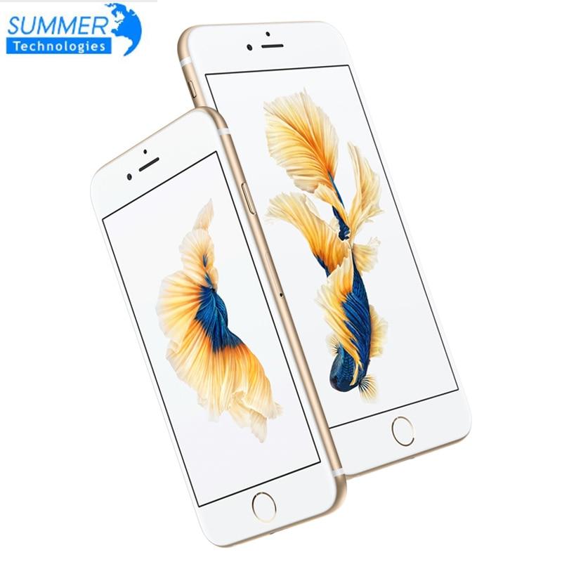 IPhone 6S Plus Original Entsperrt Apple Handy Dual Core 5.5 12MP 2G RAM 16/64/128G ROM 4G LTE 3D touch Handys