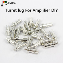DIY Turret lug Project Audio Strip Tag Board Turret Board Terminal Lug For Tube Amplifier DIY Kit Plated Tin Slotted Turret