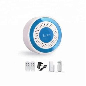 Image 3 - 433mhz Wireless Sound und Licht Sirene 100dB Alone Strobe Sirene Home Security Sound Alarm System