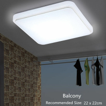 LED Ceiling Down Light Square Cover Modern Design for Bedroom Kitchen Living Room DNJ998