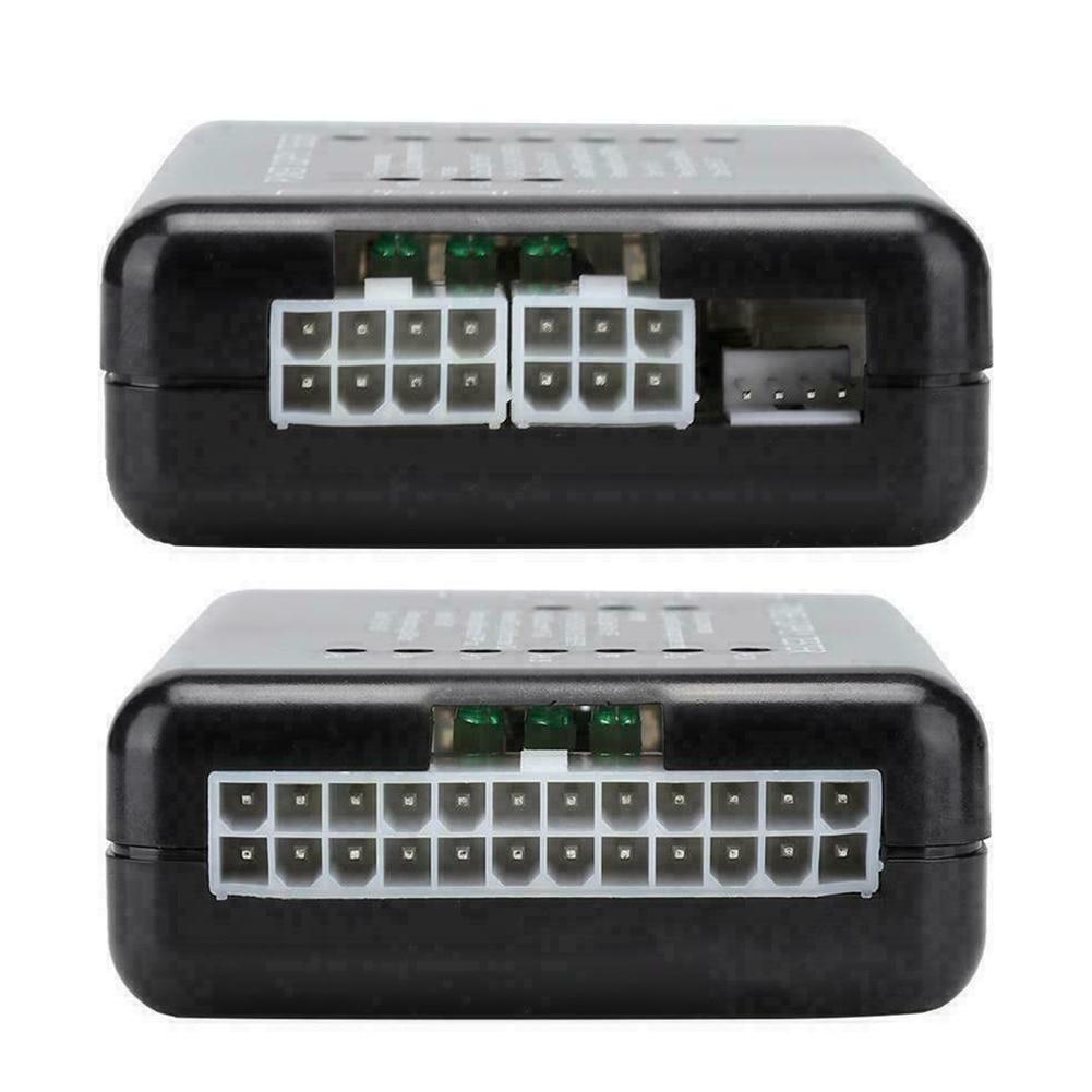 20/24 Pin Led SATA точный блок питания ATX PC компьютер мини обнаружение неисправностей проверка измерительный источник питания Тестер 12V 5V 3,3 V метр HDD| |   | АлиЭкспресс