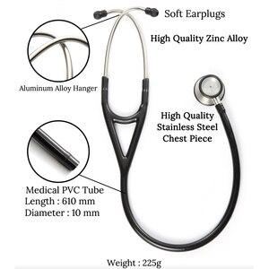 Image 5 - Professionelle Dual Head Stethoskop Kardiologie Stethoskop Arzt Medizinische Stethoskop Arzt Medizinische Geräte Geräte Krankenschwester