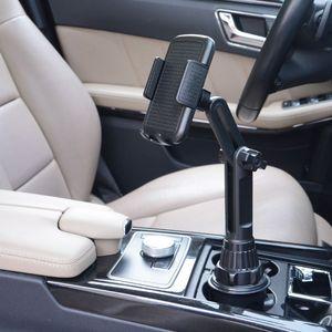 """Image 5 - Uchwyt na kubek samochodowy uchwyt do telefonu z regulowanym kątem wysokości stojak na telefon 3.5 6.5"""""""