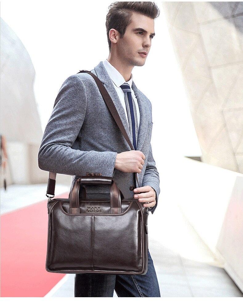 H11725b5ac28742d4b4f8525e96e540ceC 2019 New Fashion cowhide male commercial briefcase /Real Leather vintage men's messenger bag/casual Natural Cowskin Business bag