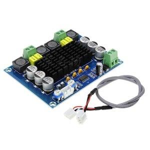 Image 2 - 최신 최고 품질 tpa3116d2 d2 120 w + 120 w 디지털 전력 증폭기 보드 듀얼 채널 DC12 26V 오디오 증폭기 보드