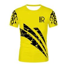 Yellow abstract Men Women T shirt Fashion 3D Printing Novelty T-shirt Lady Tops&Tees Cool graphics Mange Tshirts Oversized Shirt