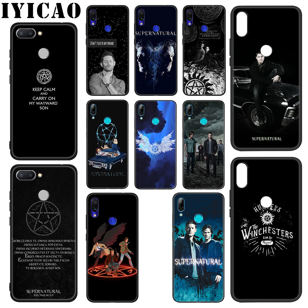 IYICAO Supernatural Soft Case for Xiaomi Redmi Note 5 6 7 8 Pro 5A Prime 4 4X Phone Case image