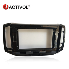 HACTIVOL 2 Din Car Radio face plate Frame for Chery E3 2013 Car DVD GPS Navigation Player panel dash mount kit car product hactivol 2 din car radio face plate frame for chery fulwin 2 2013 2016 car dvd gps navi player panel dash mount kit car product