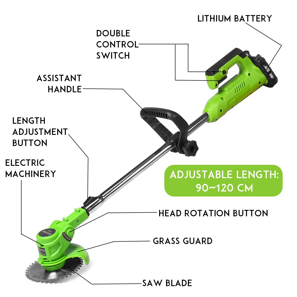 home improvement : Kaitian Green Laser Level 360 Nivel Laser 12 Lines Rotary Line Lazer Level 3D Leveling Profissional Measuring construction Tools