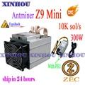 ZCASH/ZEC miner Antminer Z9 mini 10k sol/s ASIC Equihash Miner более экономичный  чем Z11 Z11e Z11j Z9 S9 S17 M20S M21S T17 E12 A9
