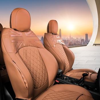 Car Seat Cover Protector Cushion Pad For Mini Cooper R56 R55R57R60 F54F55F56F57F60 Leather Auto Interior Accessories Customized