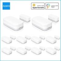 Aqara Tür Fenster Sensor Zigbee Drahtlose Verbindung Mini Tür Sensor Arbeit Mit Mi Hause APP Für Xiaomi Smart Home