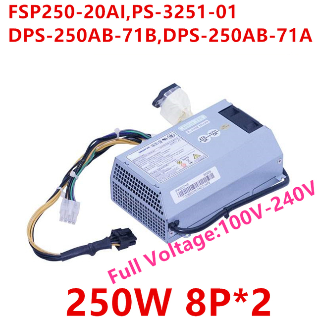 Nova FONTE de ALIMENTAÇÃO Para Lenovo b520 b520e b520r2 1088 250W Power Supply FSP250 20AI AIO PS 3251 01 DPS 250AB 71B DPS 250AB 71A