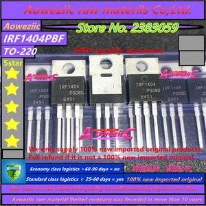 Image 3 - Aoweziic 2020 + 100% nowy importowany oryginalny IRF1404 IRF1404PBF TO 220 IRF1404Z IRF1404ZPBF TO 220 IRF1404ZS IRF1404ZSTRLPBF TO 263