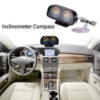 Car Vehicle Backlight Adjustable Balance Slope Meter Indicator with LED Light 2019|Vehicle Height Sensor| |  -