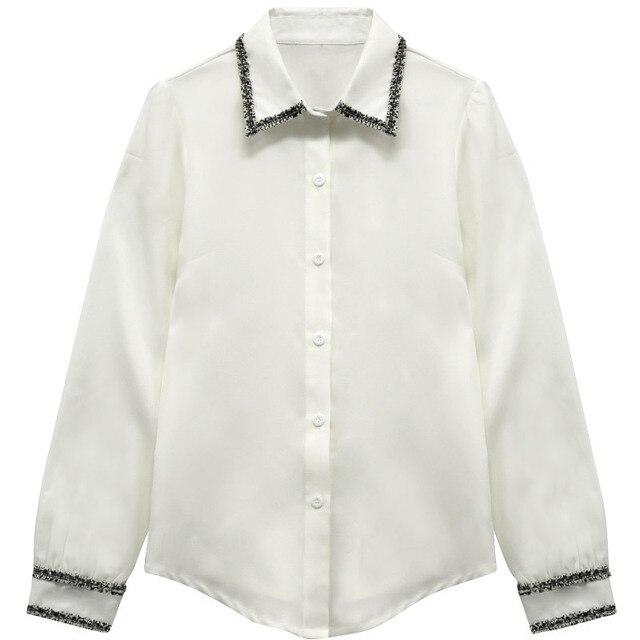Women Blouses Woman Shirts Tops Long Sleeve Shirt Chiffon Blouse Women Plus Size 5XL FreeShipping Fashion Woman Blouses 2020 5