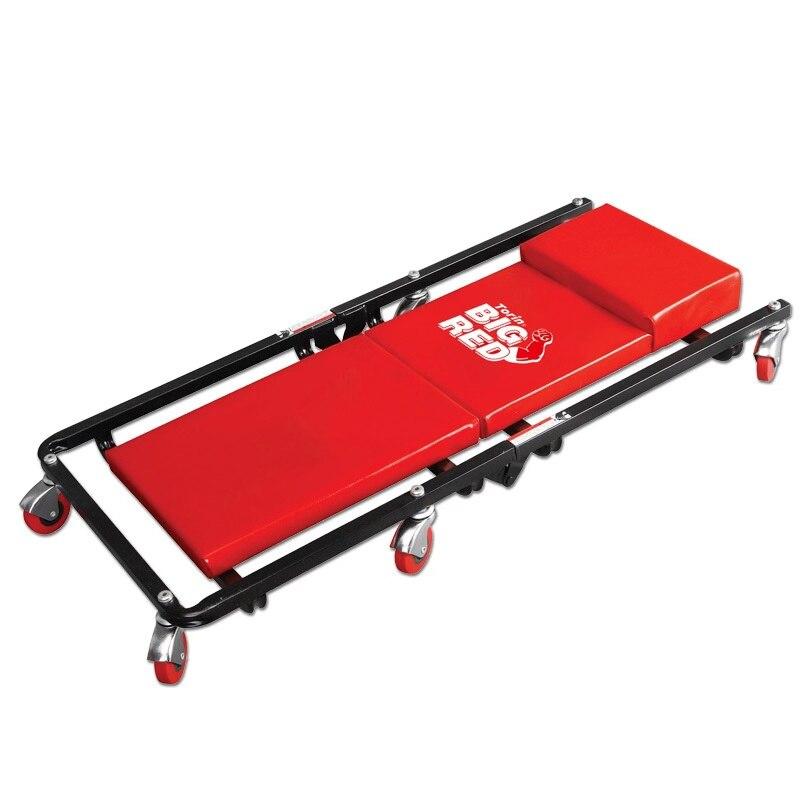 Ремонт автомобиля лежа доска авто шасси проверить Лежащая пластина с колесами скейт доска Гараж инструмент - Цвет: 36 inch