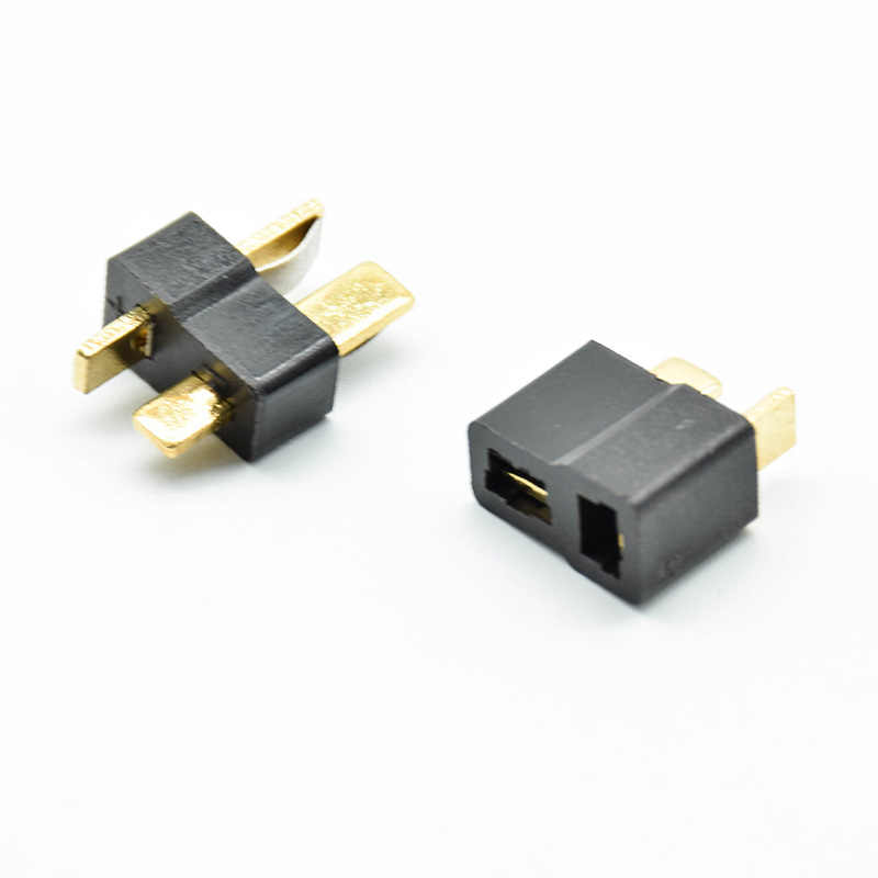 5Pairs T-Plug Gold Male Female Adapter Connector Dean Style for RC Lipo Battery