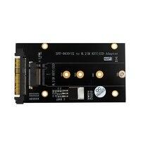 Adicionar em cartões m.2 ssd para u2 adaptador nvme m.2 ssd u2 cartão chave m com dissipador de calor glod null     -