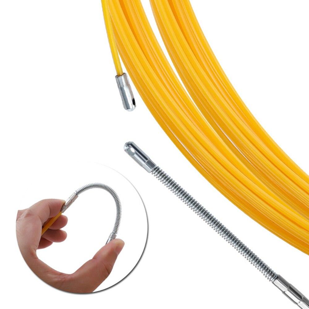 Направляющее устройство для кабельного съемника 10 м/20 м/30 м/50 м направляющее устройство из стекловолокна Электрический кабель толкатели ка...