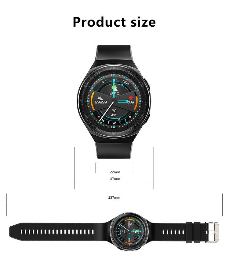 H1174fb4077944077a5d93a3c679fbcb66 MT3 Smart Watch Men Women Music Play 8G Memory Bluetooth Call Heart Rate Fitness Health Tracker Sport Waterproof Smartwatch