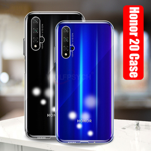 Image 2 - Slim Transparent Silicone Soft Case For Huawei Honor 20 Case Clear TPU Cover For Honor 20 9X Pro Phone Case on Honor 20 Lite