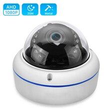 Caméra AHD anti vandalisme 1MP 1.3MP 2MP haute résolution 15 pièces IR LED vision nocturne AHD caméra analogique haute définition intérieure/extérieure