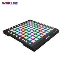 Drum-Pad Controller Sound-Module WORLDE Usb Midi ORCA Portable 64 with Optional Built-In