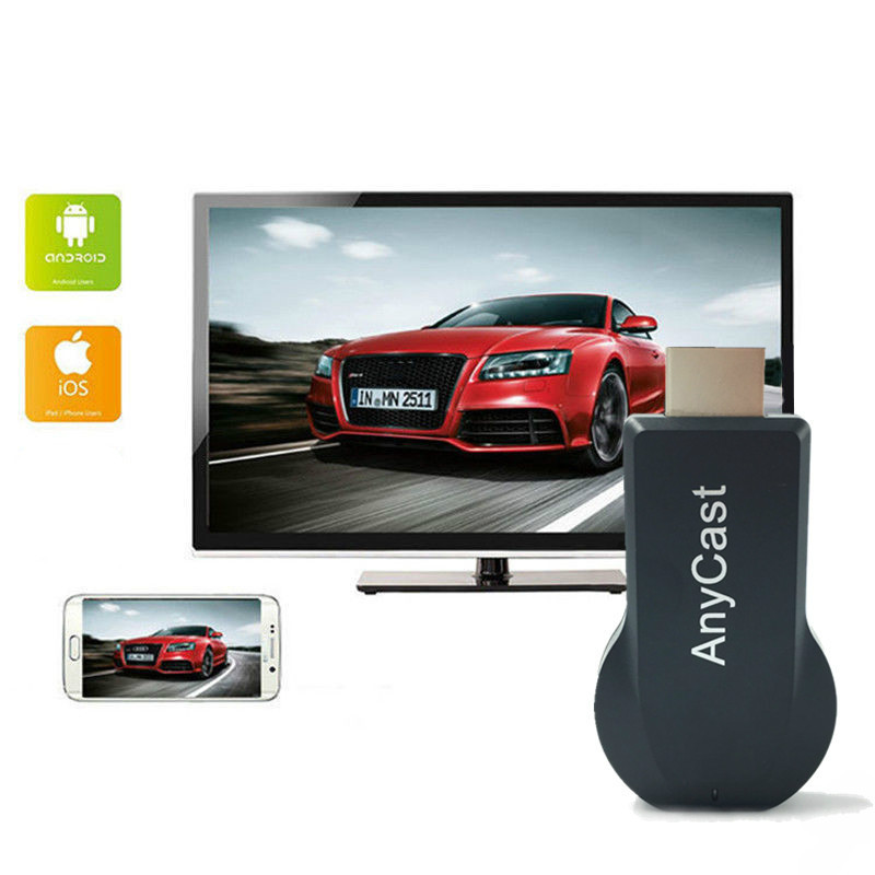 M2 Plus TV stick Wifi Display Receiver for Anycast DLNA Miracast Airplay Airmirror HDMI Adapter…