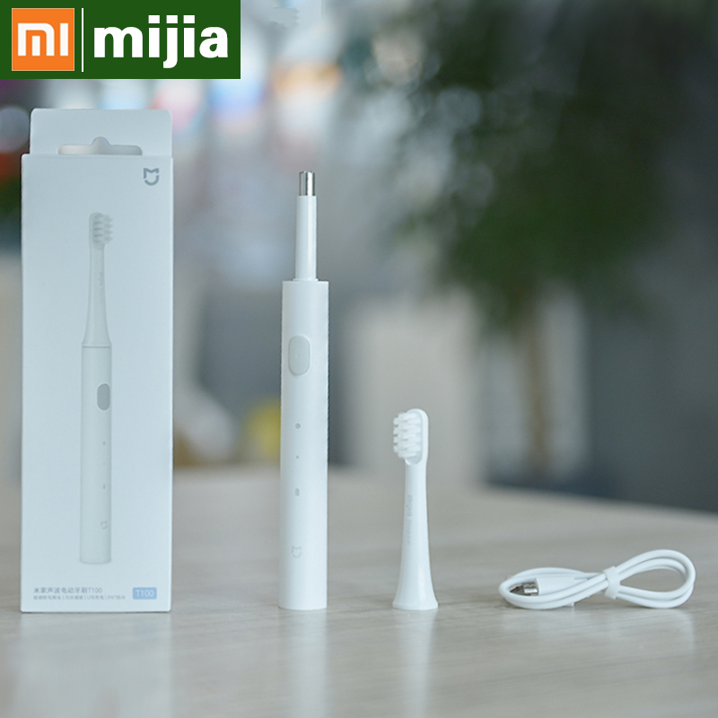 Xiaomi t100 Electric Toothbrush ultrasonic automatic toothbrush waterproof cleaning adult sonic toothbrush USB charging 5