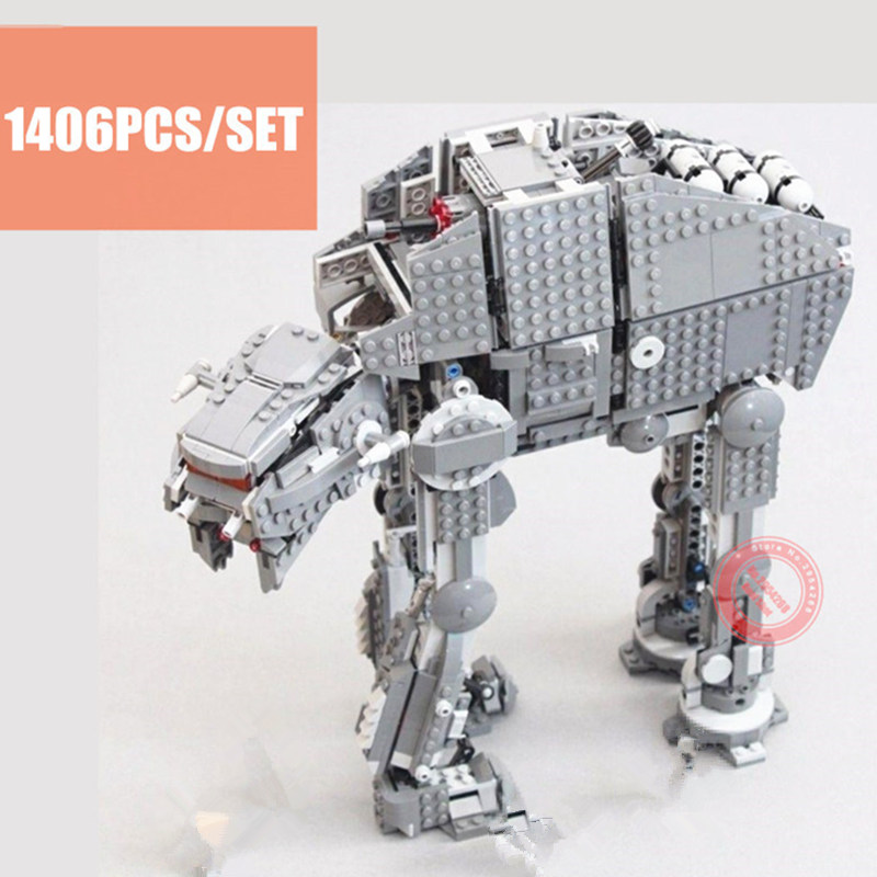 New First Order Heavy Assault Walker AT-M6 Fit Legoings Star Wars Figures Model 75189 Building Block Brick Kid Toy Gift Xmas
