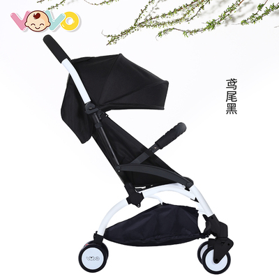 VOVO baby stroller ultra light folding can sit reclining trolley baby child kids simple summer umbrella