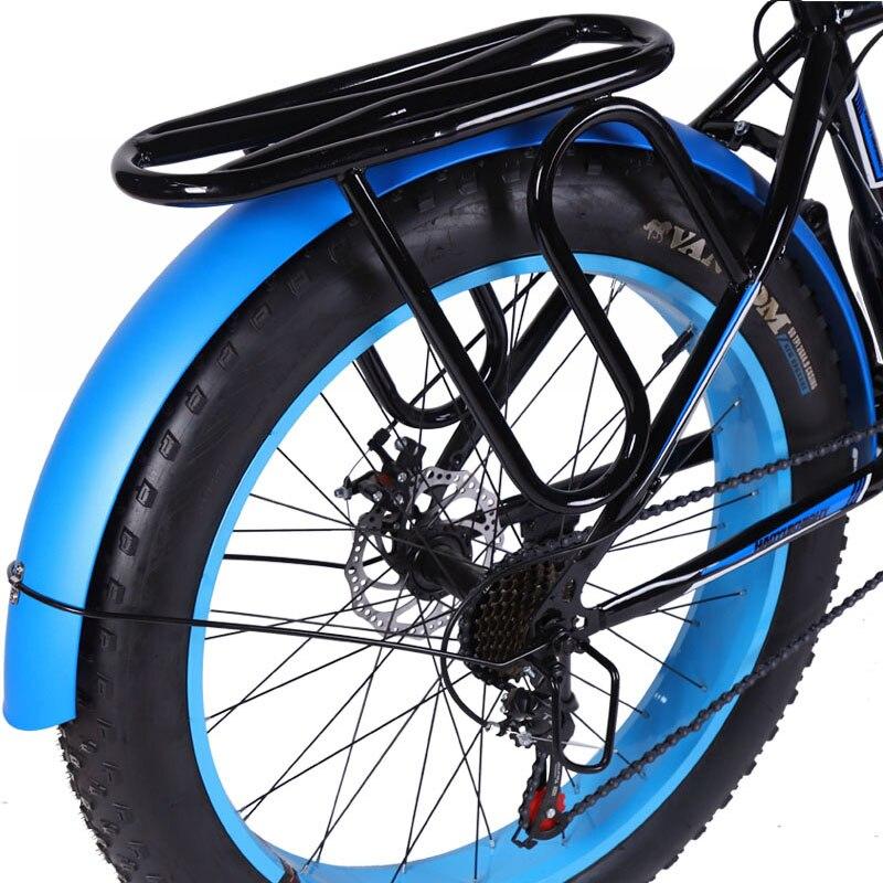 Accessori bici bicicletta 26 pollici 4.0 Fatbike MTB Biciclette 2pcs Della Bicicletta Parafango Anteriore e Posteriore Parafango bmx strada mountain bike mtb