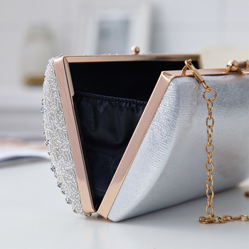Luxury Diamond Embellished design Clutch 2