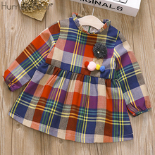 Humor Bear 2019 Spring Autumn New Baby Girl Dress Kids Cloth
