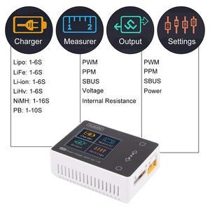 Image 5 - ToolkitRC M6 2020 V2.0 Battery Balance Charger 150W 10A DC Output for 1 6S Lipo LiHV Life Lion NiMh Pb Cell Checker Servo Tester