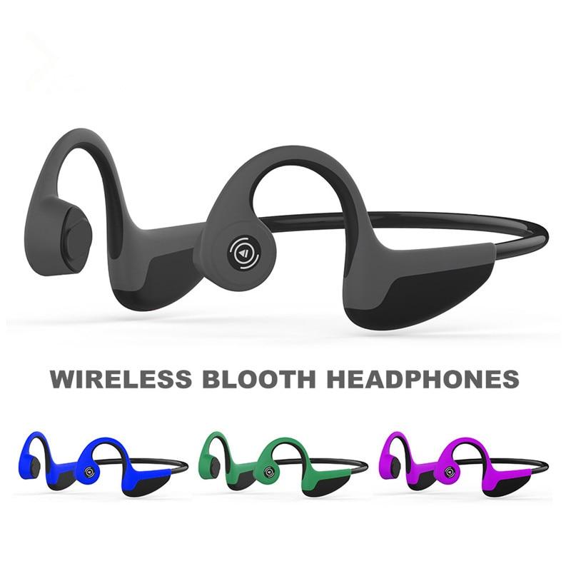 Новые беспроводные Bluetooth 5,0 наушники Z8, наушники костной проводимости, Спортивная гарнитура для геймеров с микрофоном, 골도이이z8