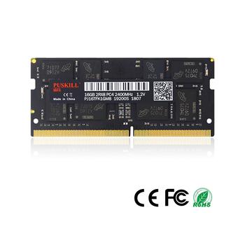 PUSKILL laptopa DDR4 4GB 8GB 16GB 2400 2133 2666MHz 19200 17000 21300 dla SODIMM pamięci RAM tanie i dobre opinie 2400 Mhz CN (pochodzenie) DDR4-NB 15-17-17-35 260 pinów 1 2VV 2133MHz 2400MHz 2666MHzMHz Green Black Samsung Micron Hynix