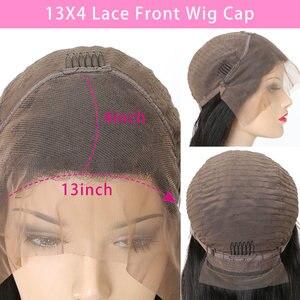 Image 5 - Ciało koronkowa fala przodu peruki z ludzkich włosów dla czarnych kobiet PrePlucked naturalną linią włosów z dzieckiem włosy RXY 13x4 brazylijska peruka z włosów typu remy