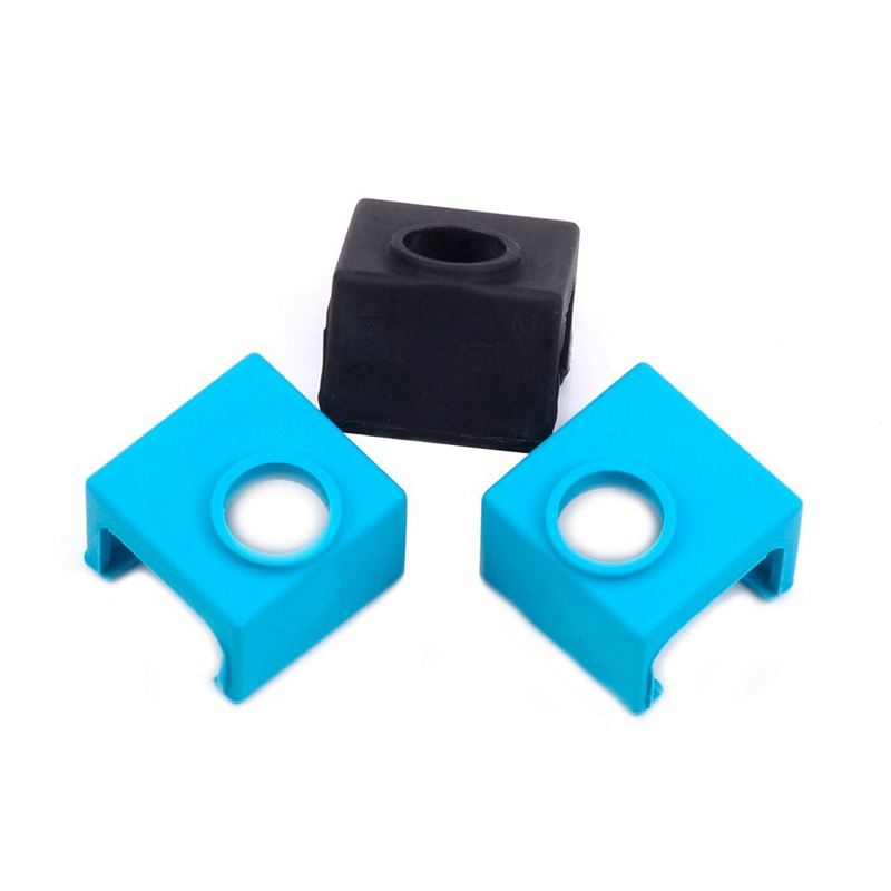 3D Printer Mk10 Silicone Socks, 3D Printer Parts Heater Block Silicone Cover Thermal Protection Silicone Sock For Wanhao I3 Ma-in 3D Printer Parts & Accessories from Computer & Office