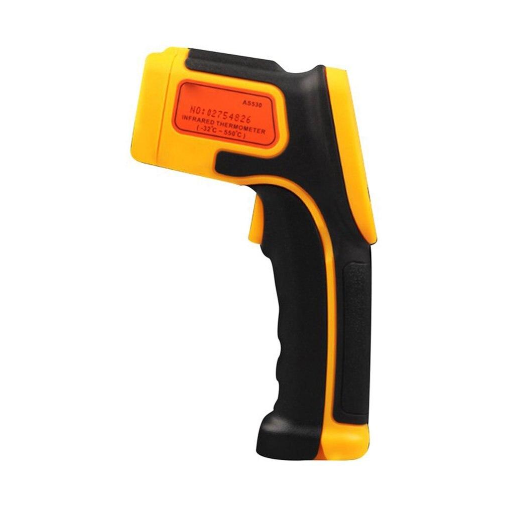 Thermomètre infrarouge faible consommation d'énergie Lcd rétro-éclairage affichage données tenir la fonction affichage de signe Laser 1 ensemble